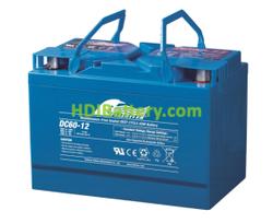 Batería para grúa ortopedia 12V 60Ah Fullriver DC60-12A