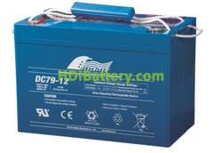 Batería para grúa ortopedia 12V 79Ah Fullriver DC79-12