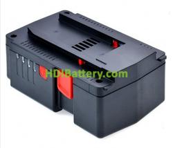Batería para herramienta inalámbrica 25.2V 3Ah