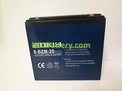Batería para juguetes 12V 20Ah Aokly Power 6-DZM-20