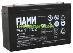 Batería para juguetes 6 Voltios 12Ah FG11202 FIAMM