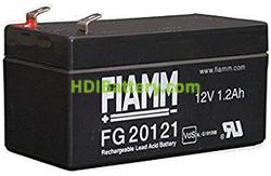 Batería para luces de emergencia 12V 1.2Ah Fiamm FG20121