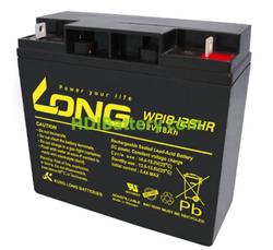 Batería para luces de emergencia 12V 18Ah Long WP18-12SHR