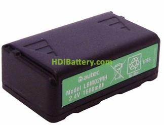 Batería para mando de grúa Autec 2.4v 1600 LBM02MH Original