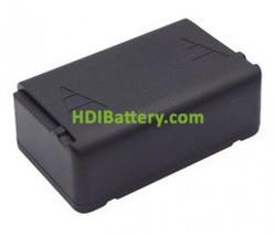 Batería para mando de grúa Autec 2.4v 1600mah LBM02MH