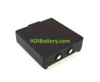 Batería para mando de grúa HETRONIC 68300520 9.6v 750mAh