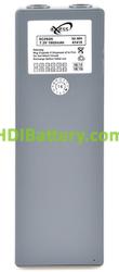 Batería para mando de grua Scanreco 7.2V 2000mAh