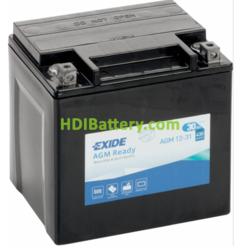 Batería para moto Exide AGM12-31 12 Voltios 30 Amperios