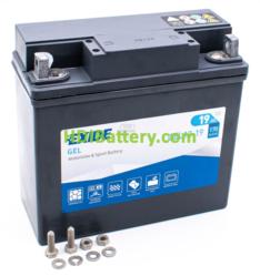 Batería para moto Exide GEL12-19 12 Voltios 19 Amperios