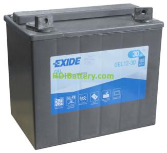 Batería para moto Exide GEL12-30 12 Voltios 30 Amperios
