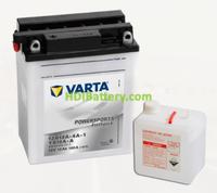 Bateria para moto Varta 12v 12ah 160A PowerSports Freshpack 12N12A-4A1/YB12A-A 136 x 82 x 161 mm