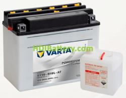 Bateria para moto Varta 12v 20ah 260A PowerSports Freshpack SY50-N18L-AT 205 x 90 x 162 mm