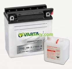 Bateria para moto Varta 12v 9ah 85A PowerSports Freshpack 12N9-4B-1/YB9-B 136 x 76 x 139 mm