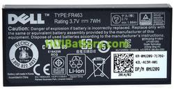 Batería para ordenador portátil 3.7V 1880mAh Dell PowerVault NX3000, FR463