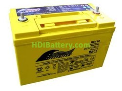 Batería para quad 12V 110Ah Fullriver HC110