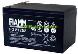Batería para SAI/UPS 12V 12Ah Fiamm FG21202