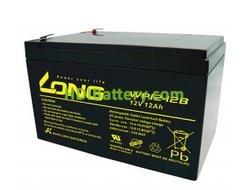 Batería para SAI/UPS 12V 12Ah Long WP12-12B