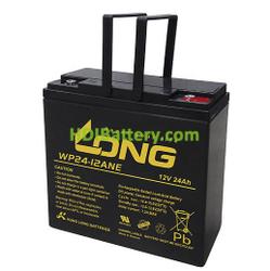 Batería para silla de ruedas 12V 24Ah Long WP24-12ANE