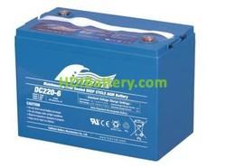Batería para silla de ruedas 6V 220Ah Fullriver DC220-6