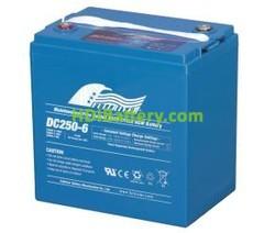 Batería para silla de ruedas 6V 250Ah Fullriver DC250-6