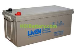 Batería para solar 12V 260Ah GEL LVJ260-12