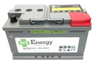 Batería para solar 12v 80Ah AGM L4 PFS Energy