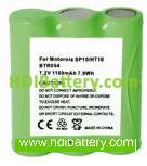 Batería para walkie talkie MOTOROLA SP10-HT10 7,2V-1100mAh
