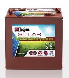 Batería plomo ácido Trojan Solar AGM SAGM 06 220 6V 220Ah Ciclo profundo 1700 Ciclos