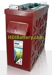 Batería plomo ácido Trojan Solar Inductrial SIND06 1225 6V 942Ah Ciclo profundo