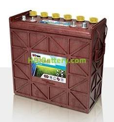 Batería plomo ácido Trojan Solar Premium SPRE 12 225 12V 204Ah Ciclo profundo