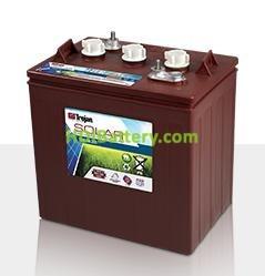Batería plomo ácido Trojan Solar Signature SSIG 06 255 6V 229Ah Ciclo profundo 1200 Ciclos