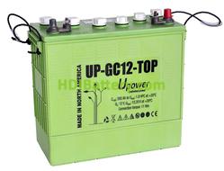 Batería plomo ácido U-POWER UP-GC12 12V 260Ah