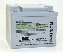 Batería plomo AGM M50-12 SLDM 12V 50Ah MK POWERED