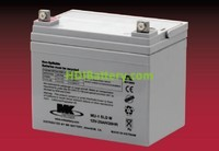 Batería plomo AGM MU-1SLD M 12V 35Ah MK POWERED