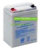 Batería plomo AGM 12 voltios 2.2 amperios