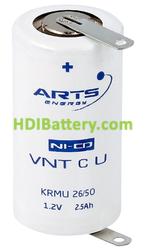 Batería recargable 1.2v 1800mah ARTS SC NiCd