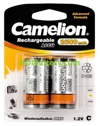 Bateria recargable cilíndrca NI-MH RC14 2500mAh