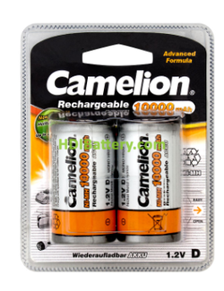 Batería recargable cilíndrica NI-MH RC20-MONO D