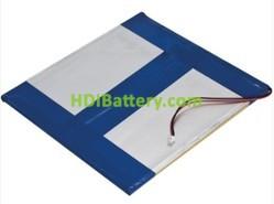 Batería recargable Li-polímero 3.7V 3800Mah PL43115125