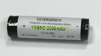 Bateria recargable Litio-Ion Samsung ICR-18650-22F Li-Ion 3.7V 2.2Ah + PCB