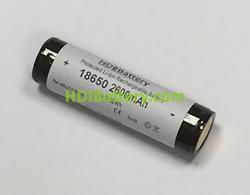 Bateria recargable Litio-Ion Samsung ICR-18650-26F Li-Ion 3.7V 2.6Ah + PCB