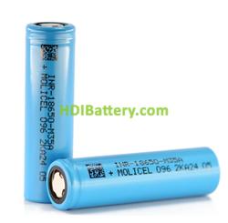 Batería Recargable Molicell INR18650-M35A Li-Ion 3,6 Voltios 3350mah 10A