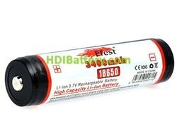 Bateria recargable NCR-18650B + PCM 3.7V 3400MAH
