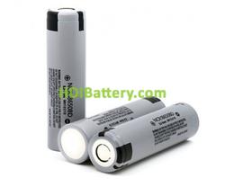 Batería Recargable Panasonic NCR18650BD Li-Ion 3,6 Voltios 3100 mAh 10A