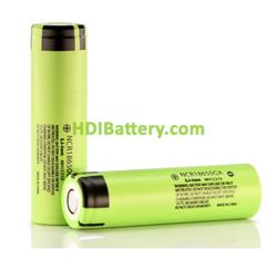Batería Recargable Panasonic NCR18650GA Li-Ion 3,6 Voltios 3350 mAh 10A