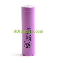 Bateria recargable Samsung ICR-18650-26F Li-Ion 3.7V 2.6Ah