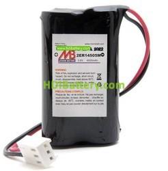 Batería para alarma Daitem BATLI05 MB 3.6V 3.6Ah