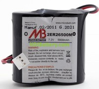 Batería sistema de alarma BATLI06 MB 7.2V 6.5Ah