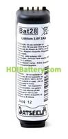 Batería para alarma Daitem BATLI28 3.6V 2AH