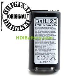 Batería sistema de alarma DAITEM BATLI26 3.6V 4Ah